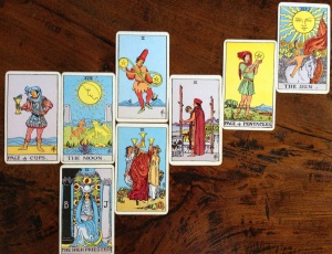 Tarot reading about the Grand Sextile on 8/26